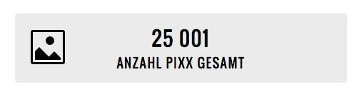 25.000-Pixx-Marke geknackt